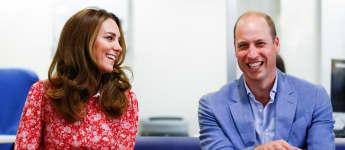 Prinz William Herzogin Kate London 2020 Bilder