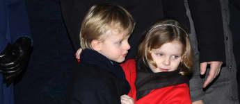 Prinz Jacques und Prinzessin Gabriella