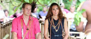 Prinz William und Herzogin Kate bei einem Staatsbesuch auf den Salomonen 2012