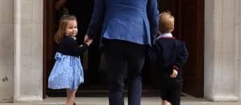 Prinzessin Charlotte, Prinz William und Prinz George