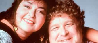 Roseanne Barr und John Goodmann