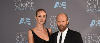 Rosie Huntington-Whiteley und Jason Statham bei den Critics' Choice Awards 201
