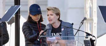 Scarlett Johansson und Mila Kunis beim Women's March 2018 in Los Angeles