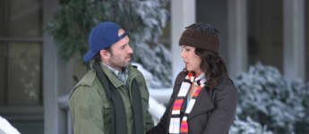 "Scott Patterson und Lauren Graham in ""Gilmore Girls"""