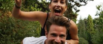 """Ex-""""Der Bachelor""""-2017 Sebastian Pannek und Clea-Lacy haben sich immer noch ziemlich gern"""