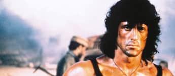 "Sylvester Stallone in ""Rambo III"""