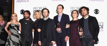 "Der ""The Big Bang Theory""-Cast bei den People's Choice Awards 2016"