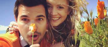 Taylor Lautner und Billie Lourd