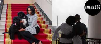 First Lady Michelle Obama verabschiedet sich via Instagram von dem weißen Haus