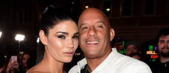 Vin Diesel und seine Paloma sind seit 10 Jahren zusammen Action Held Schauspieler Model Mexikanisch