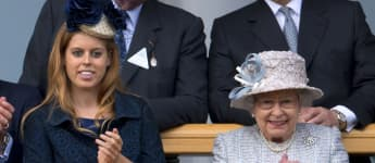Prinzessin Beatrice und Königin Elisabeth II.