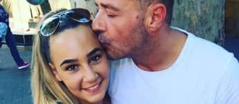 Willi Herren gemeinsam mit seiner Tochter Alessia