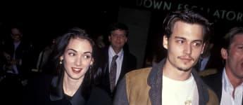 Das Ex-Paar Winona Ryder und Johnny Depp