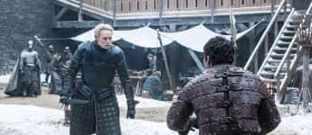 """""""Game of Thrones"""": """"Brienne von Tarth"""" (Gwendolie Christie) stellt ihre Kampfkraft unter Beweis"""