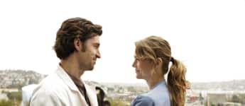 """""""Meredith Grey"""" (Ellen Pompeo) und """"Derek Shepherd"""" (Patrick Dempsey) in """"Grey's Anatomy"""""""
