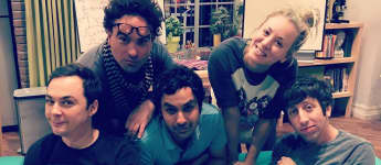 Kaley Couco, Simon Helberg, Jim Parsons, Johnny Galecki Kunal Nayyar The Big Bang Theory