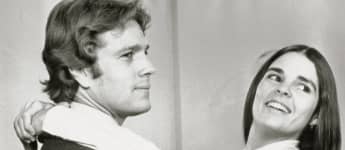 Ryan O Neal and Ali MacGraw in Love Story