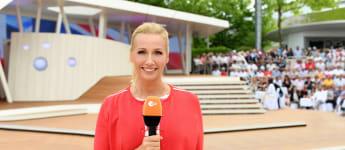 ZDF Fernsehgarten Andrea Kiewel 2019