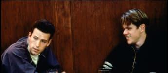 """Ben Affleck und Matt Damon in """"Good Will Hunting"""" von 1997"""