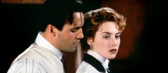 """""""Titanic"""": Billy Zane als """"Cal"""" und Kate Winslet als """"Rose"""""""