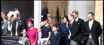 britische Königsfamilie Prinzessin Eugenie Hochzeit