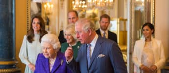 The British Royal Family at the 50th Anniversary of the Prince of Wales
