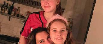 Brooke Shields und ihre Töchter Grier und Rowan