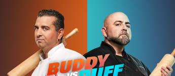 """In """"Duell der Backgiganten"""" backen Buddy Valastro und Duff Goldman um die Wette"""