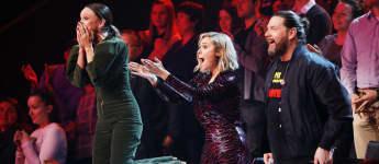 """Carolin Kebekus, Ruth Moschner und Rea Garvey bei """"The Masked Singer"""" 2020"""