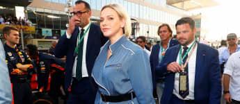 """Fürstin Charlène von Monaco beim """"Formel 1 Eithad Airways Abu Dhabi Grand Prix"""" 2019"""