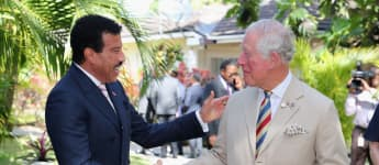 Prince Charles and Lionel Richie