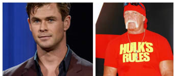 Chris Hemsworth and Hulk Hogan