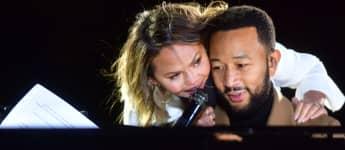 Chrissy Teigen und John Legend beim Election Day in den USA 2020