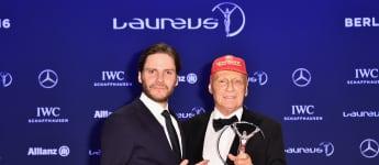 """Daniel Brühl und Niki Lauda lernten sich am Set des Films """"Rush"""" kennen"""
