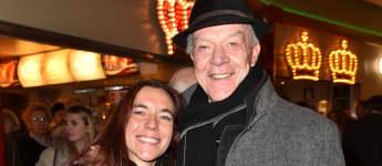 Dirk Galuba und Freundin Enrica im Circus Krone im Dezember 2018