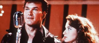 "Patrick Swayze und Jennifer Grey als ""Johnny"" und ""Baby"" in ""Dirty Dancing"""