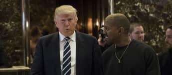 Donald Trump und Kanye West scheinen sich nicht mehr so gut zu verstehen