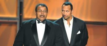 Rocky Johnson und Dwayne Johnson
