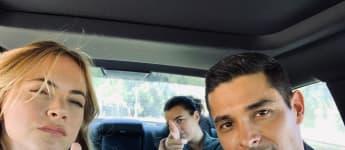 Emily Wickersham, Cote de Pablo und Wilmer Valderrama drehen fleißig für die neue NCIS-Staffel