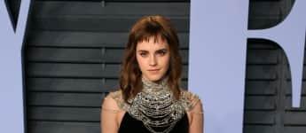 Emma Watson Tattoo-Fehler, Emma Watson, Emma Watson Time's Up Tattoo, Emma Watson Tattoo, Emma Watson Rechtschreibfehler beim Tattoo, Emma Watson neues Tattoo, Emma Watson Time's Up
