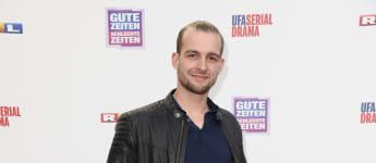Eric Stehfest beim GZSZ Jubiläum