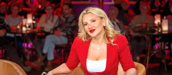 "Evelyn Burdecki beim MDR ""Riverboat"" 2020"