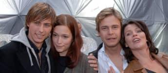 Felix von Jascheroff, Uta Kargel, Pete Dwojak und Hanne B. Wolharn von GZSZ in Berlin 2005