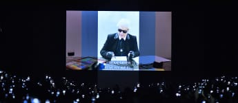 Fendis Tribut an Karl Lagerfeld