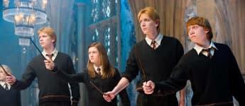 """""""Fred"""", """"Ginny"""", """"George"""" und """"Ron Weasley"""""""
