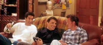 """Joey, Chandler und Ross in """"Friends"""""""