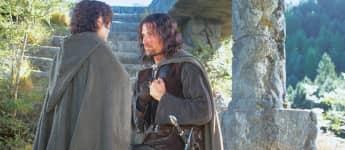 """""""Frodo"""" und """"Aragorn"""" bei """"Herr der Ringe"""" 2001"""