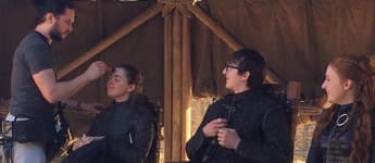 Kit Harington, Maisie Williams, Isaac Hempstead-Wright, Sophie Turner