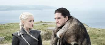 Game of Thrones Daenerys Jon Snow Emilia Clarke Kit Harington