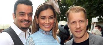 Giovanni, Jana Ina Zarrella und Oliver Pocher sind gute Freunde